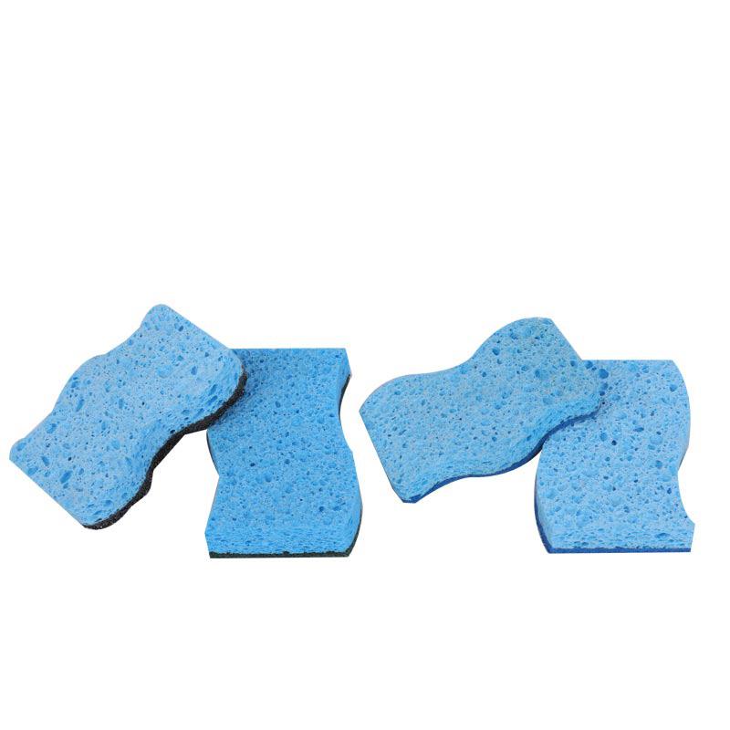 DH-A5-2 纤维素厨房清洁海绵耐用涂层海绵