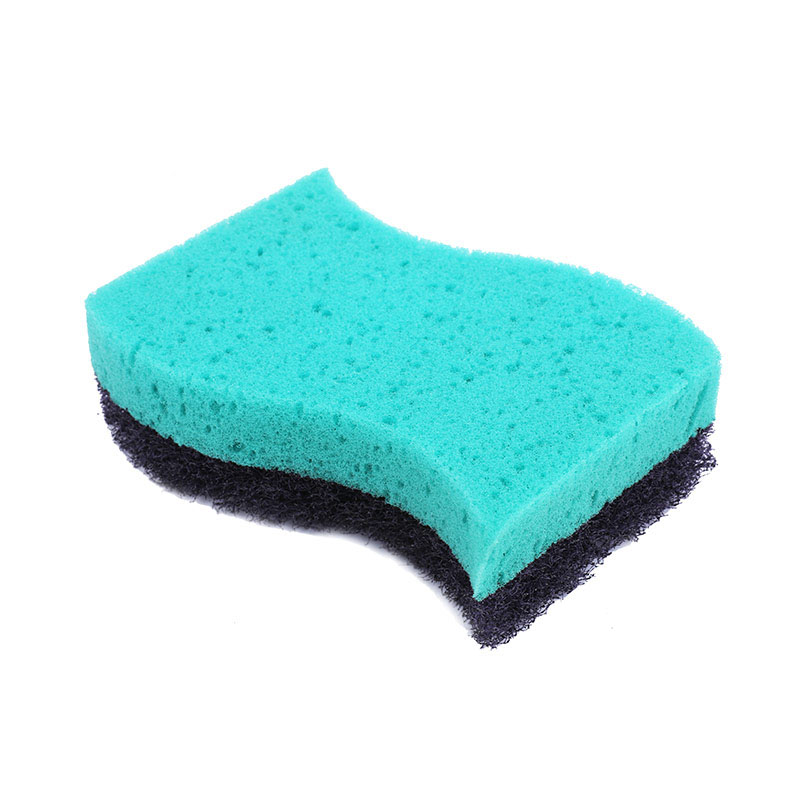 DH-A1-3 海绵厨房百洁布磨料纤维无纺布碗碟清洁垫
