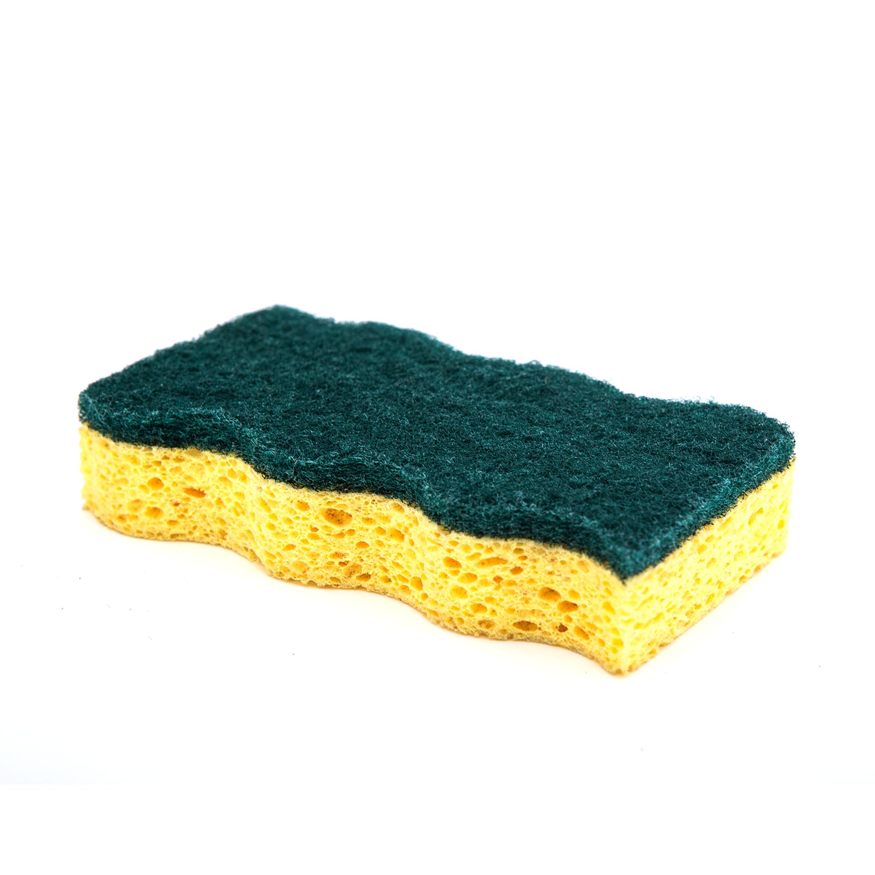 DH-A5-3 带有百洁布的高品质纤维素海绵厨房清洁海绵